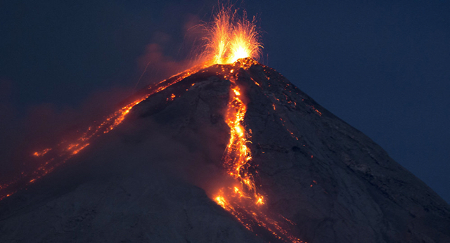 Guatemala's Volcan El Fuego